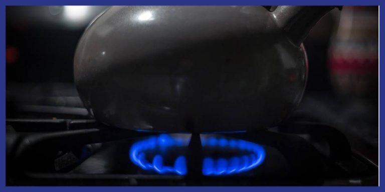 gaz qui chauffe pour montrer le compteur de gaz