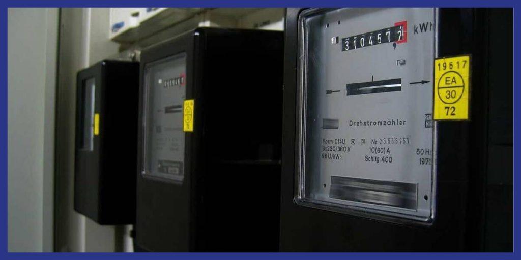numéro sur le compteur gaz