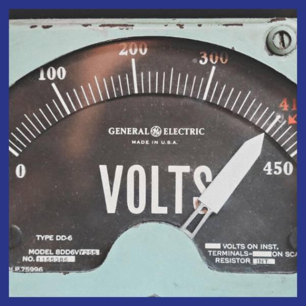 cadran de mesure d'un compteur électrique