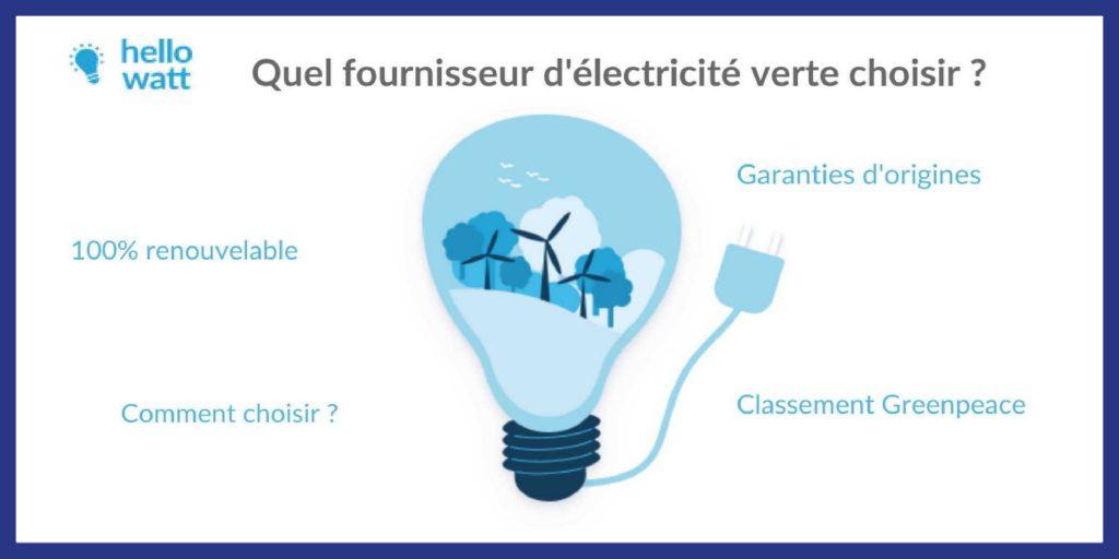 fournisseur electricite verte choisir