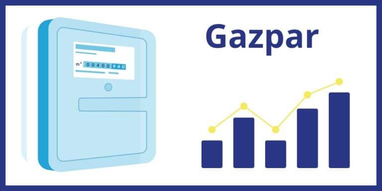 Gazpar compteur gaz connecte consommation gaz GRDF