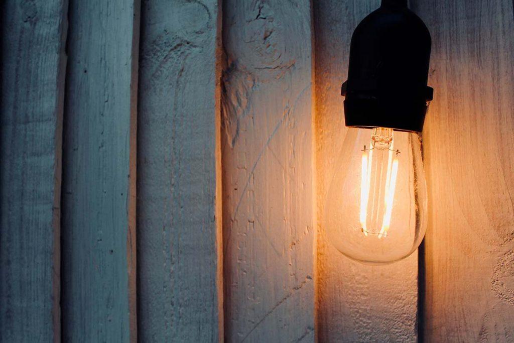 mise en service electricite lumiere